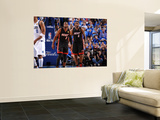 Miami Heat v Dallas Mavericks - Game Five, Dallas, TX -June 9: Dwyane Wade and LeBron James Wall Mural by Andrew Bernstein