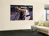 Miami Heat v Dallas Mavericks - Game Five, Dallas, TX -June 9: LeBron James and Jason Kidd Wall Mural by Ronald Martinez