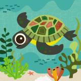 Ocean Friends, Terrance Kunstdrucke von Jenn Ski
