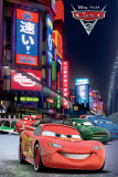 Disney Cars 2-Tokyo Race Posters