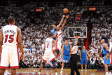 Dallas Mavericks v Miami Heat - Game Six, Miami, FL - June 12: Joel Anthony, Tyson Chandler, Chris  Photographic Print by Andrew Bernstein