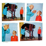 """Smile for the Photographer,"" April 21, 1962 Giclee Print by Richard Sargent"