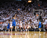 Dallas Mavericks v Miami Heat - Game Six, Miami, FL - June 12: Dirk Nowitzki and Chris Bosh Photo by Garrett Ellwood
