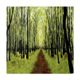 The Avenue Collectable Print by Sandra Moffat