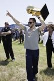 Mavericks Return to Dallas as NBA Champions, DALLAS, TX - June 13: Jose Juan Barea Photographic Print by Glenn James