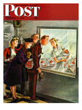 &quot;Maternity Ward,&quot; Saturday Evening Post Cover, November 2, 1946 Giclee Print by Constantin Alajalov