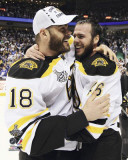 Boston Bruins - David Krejci & Nathan Horton Photo