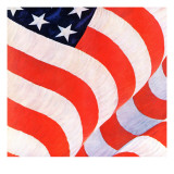 """Old Glory,"" July 4, 1942 Giclee Print by John Clymer"