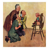 """Baby Picture,"" February 19, 1949 Giclee Print by Jack Welch"
