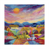 Profusion of Colour Collectable Print by Kathleen Buchan