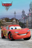 Disney Cars 2-McQueen Solo London Prints