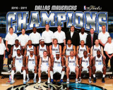 Dallas Mavericks - Mavericks Team Sit Down Photo