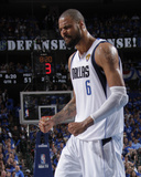 Miami Heat v Dallas Mavericks - Game Four, Dallas, TX -June 7: Tyson Chandler Photographic Print by Glenn James