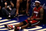 Miami Heat v Dallas Mavericks - Game Three, Dallas, TX -June 5: LeBron James Photographic Print by Tom Pennington
