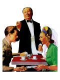 """Dutch Treat,"" September 6, 1941 Giclee Print by John Hyde Phillips"
