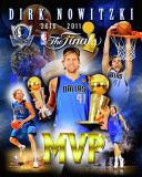 Dallas Mavericks - Dirk Nowitzki MVP Portrait Plus Photo
