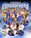 Dallas Mavericks - Mavericks Champions PF Gold Photo