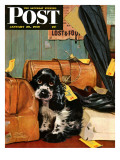 """Butch in Lost & Found,"" Saturday Evening Post Cover, January 29, 1949 Giclee Print by Albert Staehle"