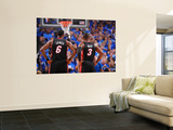 Miami Heat v Dallas Mavericks - Game Five, Dallas, TX -June 9: LeBron James and Dwyane Wade Wall Mural by Jesse D. Garrabrant