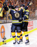 Boston Bruins - Rich Peverley &amp; Milan Lucic Photo