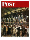 """Republican Convention,"" Saturday Evening Post Cover, June 19, 1948 Giclee Print by John Falter"