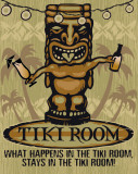 Tiki Tin Sign