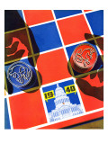"""Election Checkerboard,"" September 14, 1940 Giclee Print by John Hyde Phillips"