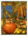 """Fall Harvest,"" October 27, 1945 Giclee Print by John Atherton"