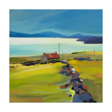 Dyke on the Holding Collectable Print by Pam Carter