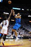 Dallas Mavericks v Miami Heat - Game Six, Miami, FL - June 12: Shawn Marion and Dwyane Wade Photographic Print by Garrett Ellwood