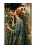 The Soul of the Rose Giclée-tryk af John William Waterhouse