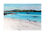 Summer Mooring Iona Limited Edition by Frank Colclough