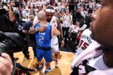 Dallas Mavericks v Miami Heat - Game Six, Miami, FL - June 12: Jason Kidd and LeBron James Photographic Print by Andrew Bernstein