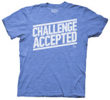 How I Met Your Mother - Challenge Accepted Type (Slim Fit) T Shirts