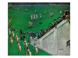 """Baton Twirlers Leave the Field,"" November 17, 1962 Giclee Print by Thornton Utz"