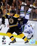 Boston Bruins - Brad Marchand Check Photo