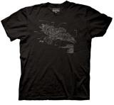 Firefly -  Serenity Diagram T-skjorter