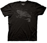 Firefly -  Serenity Diagram T-Shirts