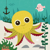 Ocean Friends, Olga Plakat af Jenn Ski