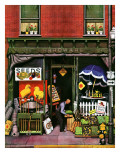 &quot;Hardware Store at Springtime,&quot; March 16, 1946 Giclee Print by Stevan Dohanos