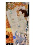The 3 Ages of Woman (detail) Giclée-Druck von Gustav Klimt