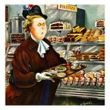 """NO Desserts,"" March 12, 1949 Giclee Print by Constantin Alajalov"