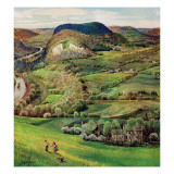 """Green Moutains,"" May 21, 1960 Giclee Print by John Clymer"