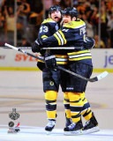 Boston Bruins - Michael Ryder & Andrew Ference Photo