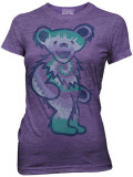 Juniors: Grateful Dead - Single Tie Dyed Bear T-Shirts