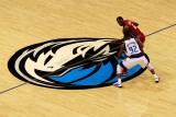 Miami Heat v Dallas Mavericks - Game Four, Dallas, TX -June 7: LeBron James and DeShawn Stevenson Photographic Print by Tom Pennington
