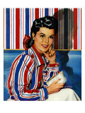 """Wallpaper Blouse,"" October 25, 1941 Giclee Print by Al Moore"
