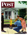 """Future President,"" Saturday Evening Post Cover, September 25, 1948 Giclee Print by George Hughes"