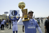 Mavericks Return to Dallas as NBA Champions, DALLAS, TX - June 13: Mark Cuban Photographic Print by Glenn James