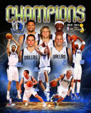 Dallas Mavericks - Mavericks Champions Composite Photo